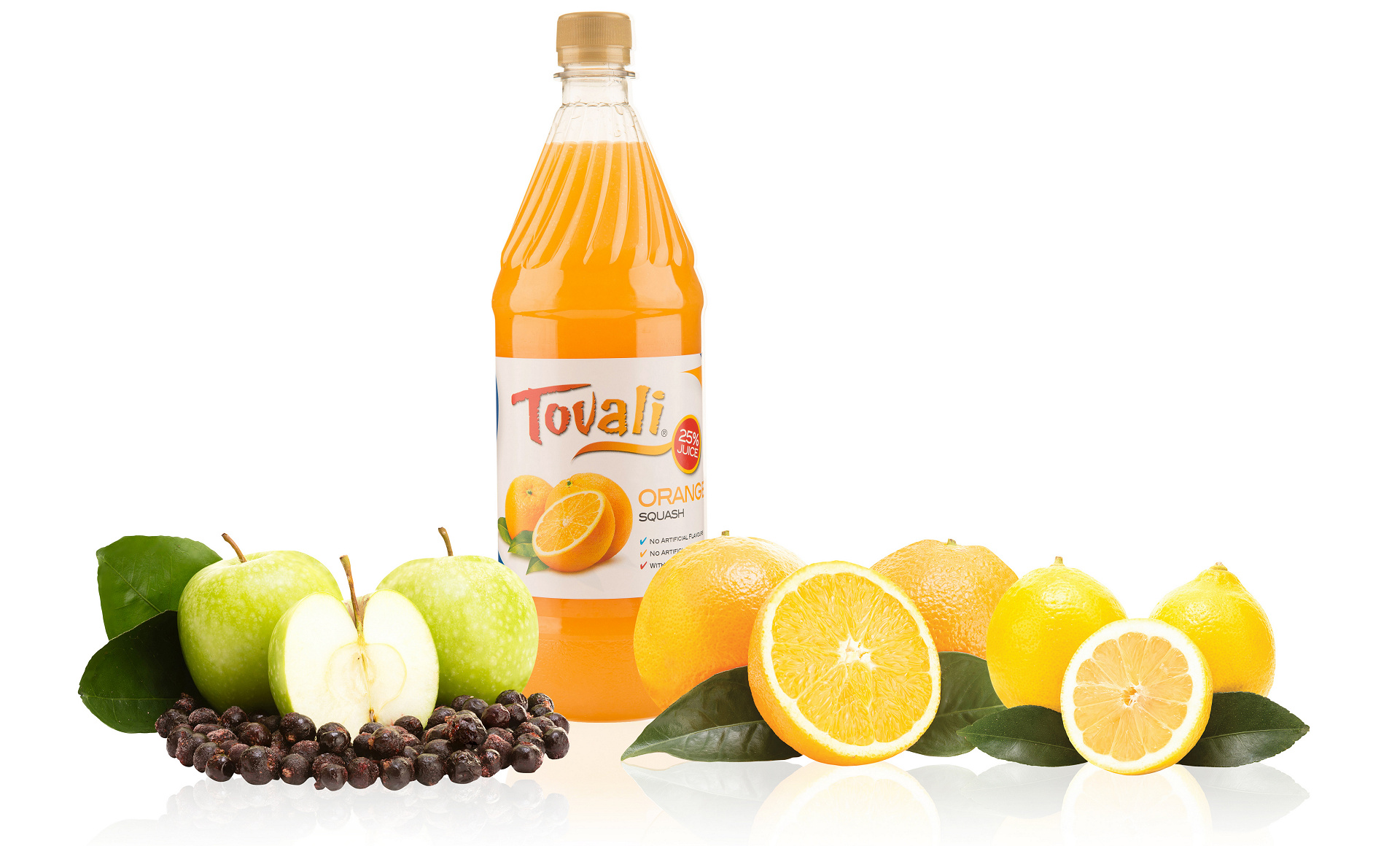 Tovali, Quality Fruit Drinks since 1937
